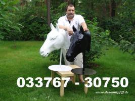 Foto 5 Deko Kuh lebensgross und dazu ein Deko Kälbchen ....