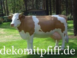 Foto 3 Deko Kuh lebensgross kaufen und dazu gibt es ein Deko Kalb ...