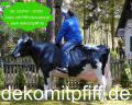 Deko Kuh lebensgross - Holstein - Friesian ...