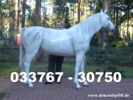 Deko Pferd lebensgross für Ihr Wohnzimmer ...