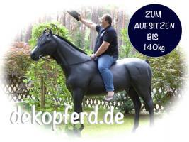 Foto 3 Deko Pferd & Deko Kuh zum aufsitzen gibts das ?????
