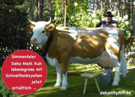 Foto 5 Deko Pferd & Deko Kuh zum aufsitzen gibts das ?????
