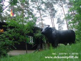 Foto 4 Deko Stier oder Deko Bulle oder Deko Pferd