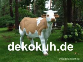 Foto 2 Deko kuh lebensgross und dann noch ein Deko Pferd dazu ok. ...