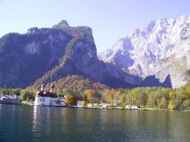 Der Königssee, Urlaub mit Hund im Berchtesgadener Land, auch für Wintersport, W-LAN