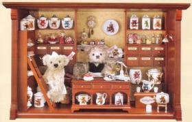 Der original Steiff Honigschleckerladen