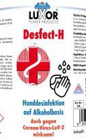 Desfect-H Handdesinfektion 168