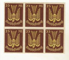 Deutsches Reich  Flugpost 25 M