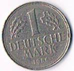 Deutschland 1 DM '' 1969 F '' ! !