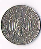 Foto 2 Deutschland 1 DM '' 1969 F '' ! !