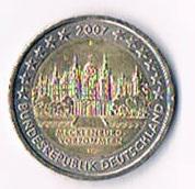 Deutschland 2 Euro Gedenkmünze '' 2007 '' Mecklenburg Vorpommern !