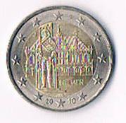 Deutschland 2 Euro Gedenkmünze '' 2010 '' Bremen !
