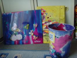 Diddl Paket - Pinnwand, Magnete, Mülleimer, große Mappe