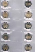 Foto 2 Die Deutschen 2 Euro Gedenkmünzen 2006 -2012 ! ! !