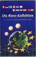Die Euro - Kollektion 1 , 2 und 5 Cent Komplett - Satz