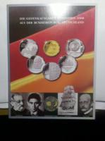 Die Gedenkausgaben 2008 Münzen