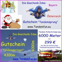 Die Geschenkideen Fallschirmspringen Bayern