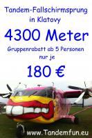 Foto 2 Die Geschenkideen Fallschirmspringen Bayern