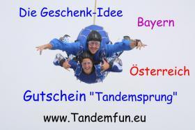 Foto 4 Die Geschenkideen Fallschirmspringen Bayern