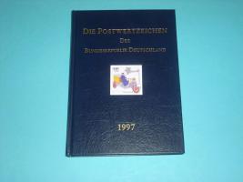 Die Postwertzeichen der Bundesrepublik Deutschland 1997
