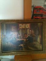 ''Die Spieler'' Gemälde zu verkaufen