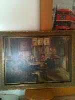 Foto 2 ''Die Spieler'' Gemälde zu verkaufen