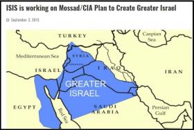 ISIS is working on Mossad/CIA Plan