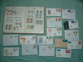 Die ersten Jahre Briefmarkensammlung UN-Wien