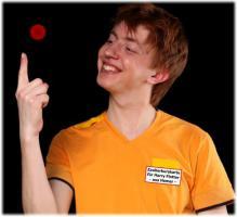 Zauberlehrling Kevin Bilder zu Sorpetaler Kinder-Zauberschule