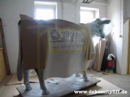 Foto 2 Die neue Deko Holstein Kuh lebensgross gibt es auch Logokuh ...