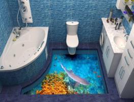 Fußboden 3d Gratis ~ Wapel der fußboden im bad fahrstuhl etage bad mit stereo super