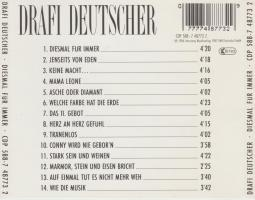 Foto 2 Diesmal für immer *Drafi Deutscher* CD 1986