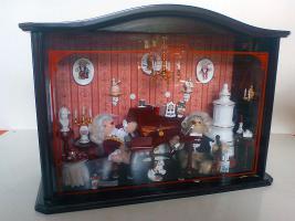Diorama Klavierzimmer von Steiff