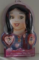 Disney Princess Snow White Mädchenperückenset mit viel Accessoire