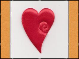 Diverse Streuteile – Thema Herzen - rot, pink