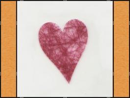 Foto 2 Diverse Streuteile – Thema Herzen - rot, pink