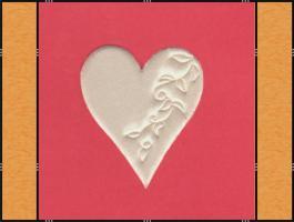 Foto 2 Diverse Streuteile - Thema Herzen - Weiß, Creme, Rosa