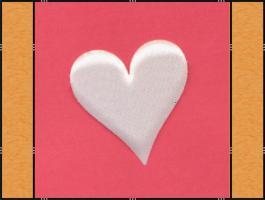 Foto 4 Diverse Streuteile - Thema Herzen - Weiß, Creme, Rosa