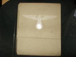 Dokumentenmappe von hochrangigen xxOffizieren (Hau