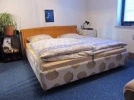 Doppelbett komplett mit Matratzen