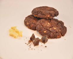 Double chocolate Cookies mmm.
