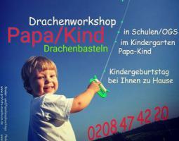 Drachenbastel Event als Kindergeburtstag Mülheim Party in Düsseldorf Essen Duisburg  Köln Mettmann Nrw