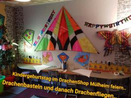 Foto 9 Drachenbastel Event als Kindergeburtstag Mülheim Party in Düsseldorf Essen Duisburg  Köln Mettmann Nrw