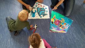 Drachenbastel Event als Kindergeburtstag Party in Voerde Nrw