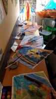 Foto 3 Drachenbastel Event als Kindergeburtstag Party in Voerde Nrw
