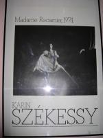 Foto 2 Druck von Karin Szekessy ''Madame Recamier, 1974'' Galerie Edition