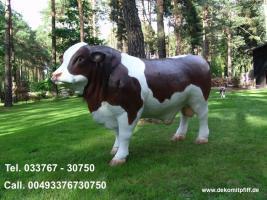 Foto 3 Du hast ne Deko kuh im Garten und warum noch nicht einen Deko Bullen …?
