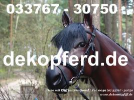 Du hast ne Messe und möchtest deine Deko Kuh oder Deko Pferd auf deinen Messestand als Reklame den Kunden zeigen ...
