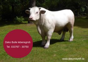 Foto 2 Du hast noch keinen Deko Bullen im Garten ok. dann bestellen oder möchtestz Du eine Deko kuh mit Deko Kalb ...