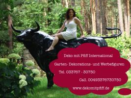 Foto 7 Du hast noch keinen Deko Bullen im Garten ok. dann bestellen oder möchtestz Du eine Deko kuh mit Deko Kalb ...